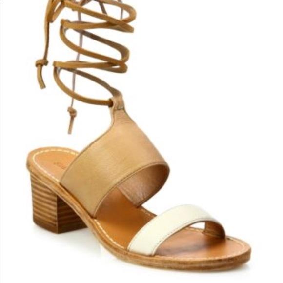 35483b3511f7 Soludos Ankle Tie Sandle